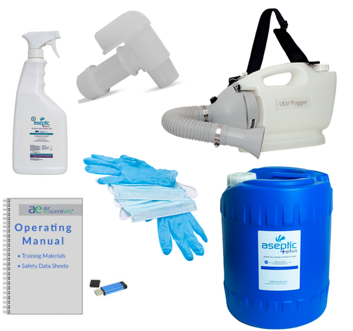 Disinfecting Room Fogger Kit full kit