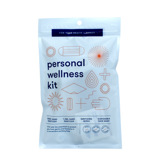 Personal Wellness Kit, 100/Case