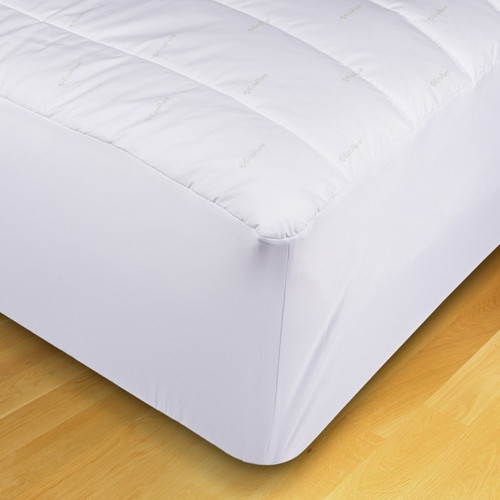 EcoPure Mattress Pad With Fitted Skirt