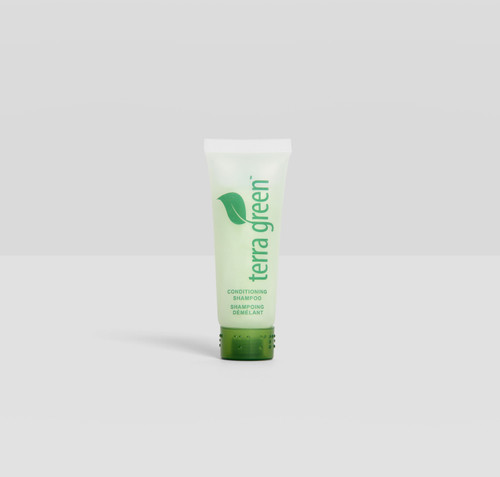 Conditioning Shampoo Terra Green Screw Cap Tube with Lemongrass Essence