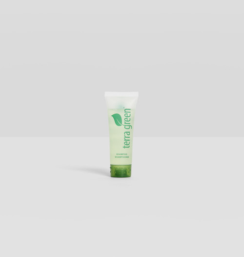 Shampoo Terra Green Screw Cap Tube with Lemongrass Essence
