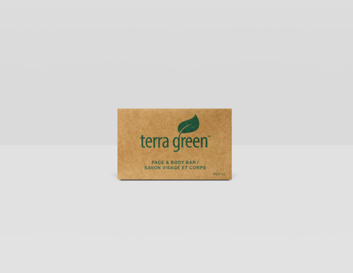 Cleansing Soap Bar Terra Green Recycled Boxed Rectangle Soap, 1.0oz, 300/Case