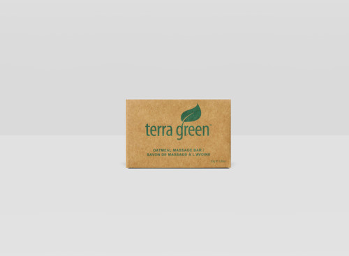 Cleansing Soap Bar Terra Green Recycled Boxed Rectangle Massage Soap, 1.85oz, 250/Case