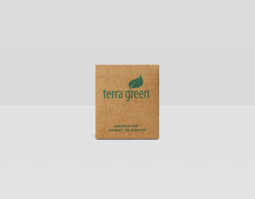 Shower Cap Terra Green Recycled Boxed Shower Cap 250/Case