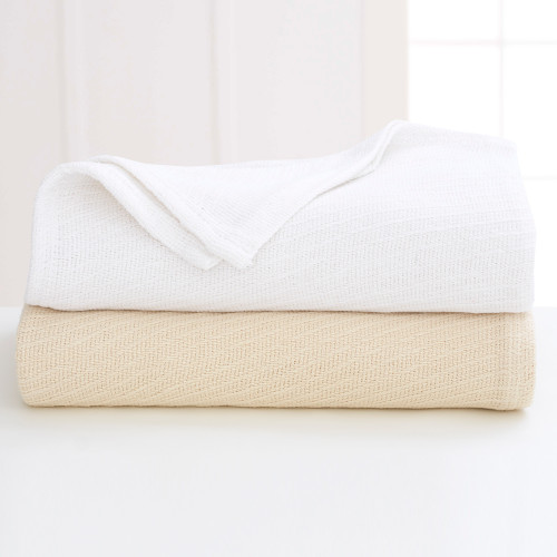 Martex Sovereign Diagonal Stripe Cotton Blanket