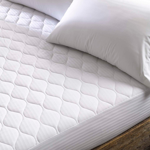 Martex Green Mattress Pad With Fitted Skirt