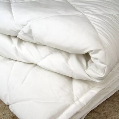 Foundations Eco-Comfort 57x84 Twin Comforter - White