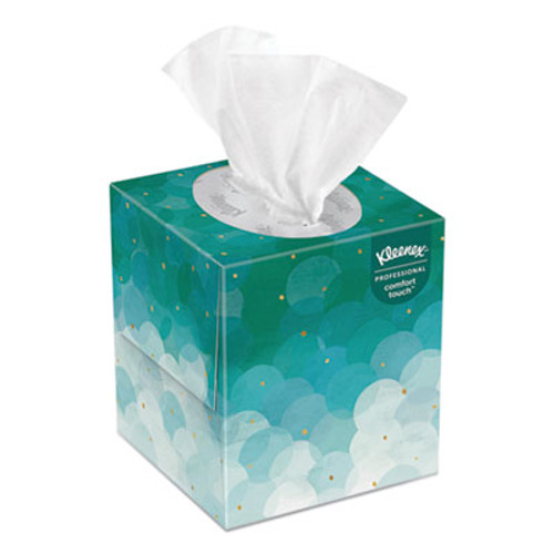 Kimberly Clark Kleenex Boutique White Facial Tissue, 2-Ply, Pop-Up Box, 95/Box, 36 Boxes/Carton