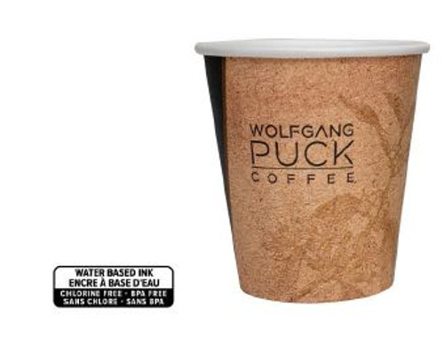 Wolfgang Puck 10oz Unwrapped Hot Cup 1,000/Case