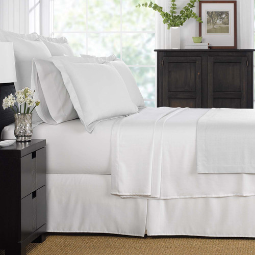 Martex Suites Coverlet White (Case Pack Of 4)