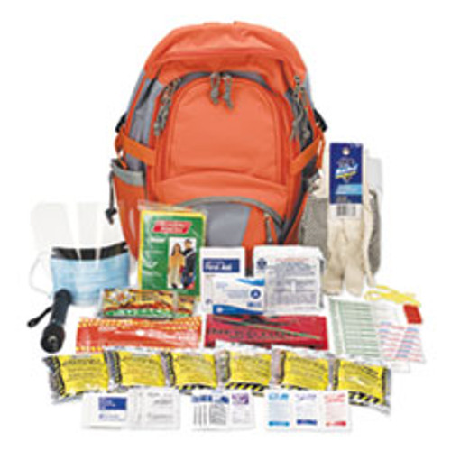 Acem United Emergency Preparedness First Aid Backpack, 63 Pieces Kit