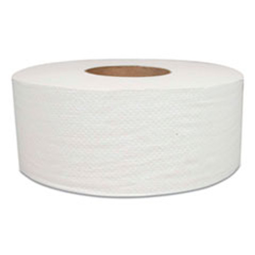 Morcon Jumbo Bath Tissue, Septic Safe, 2-Ply, White, 700 ft, 12 Rolls Carton