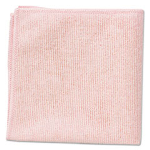 Rubbermaid Microfiber Cleaning Cloths, 16 x 16, Pink, 24 Pack