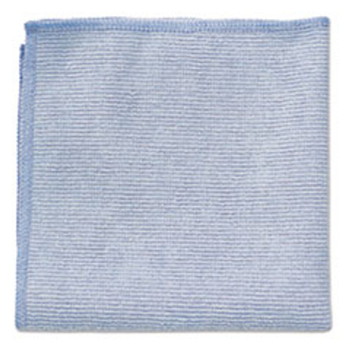 Rubbermaid Microfiber Cleaning Cloths, 12 x 12, Blue, 24 Pack
