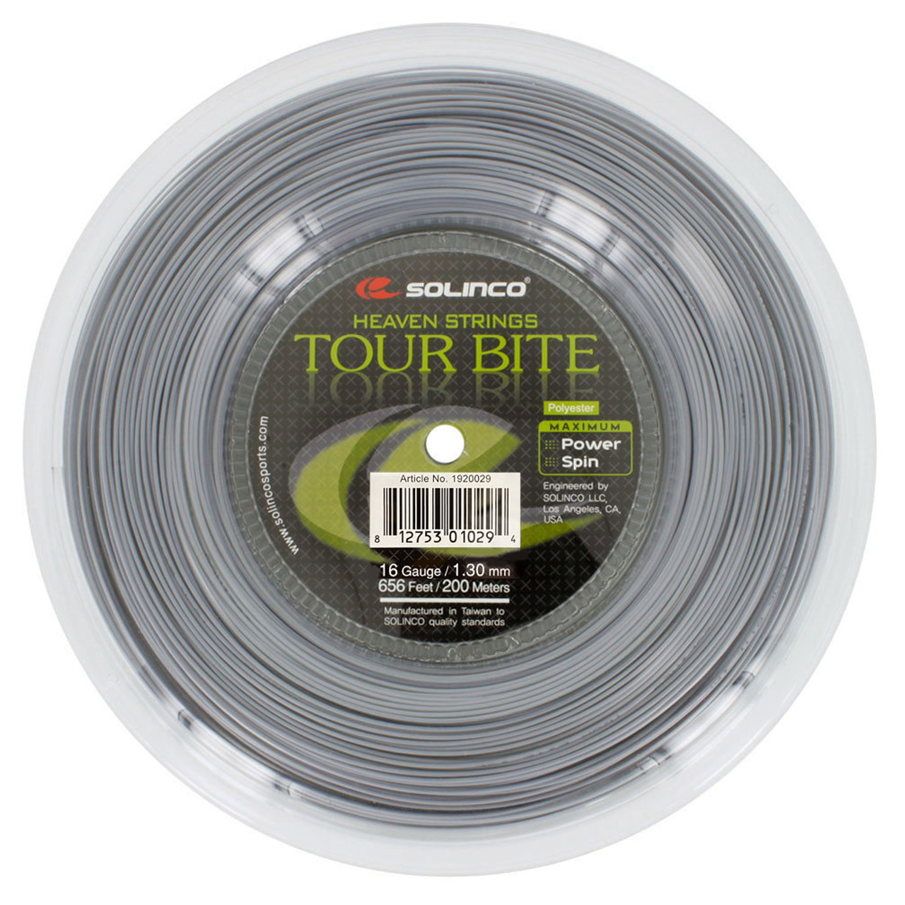Solinco Tour Bite Soft 16 16L 17 18 tennis string set