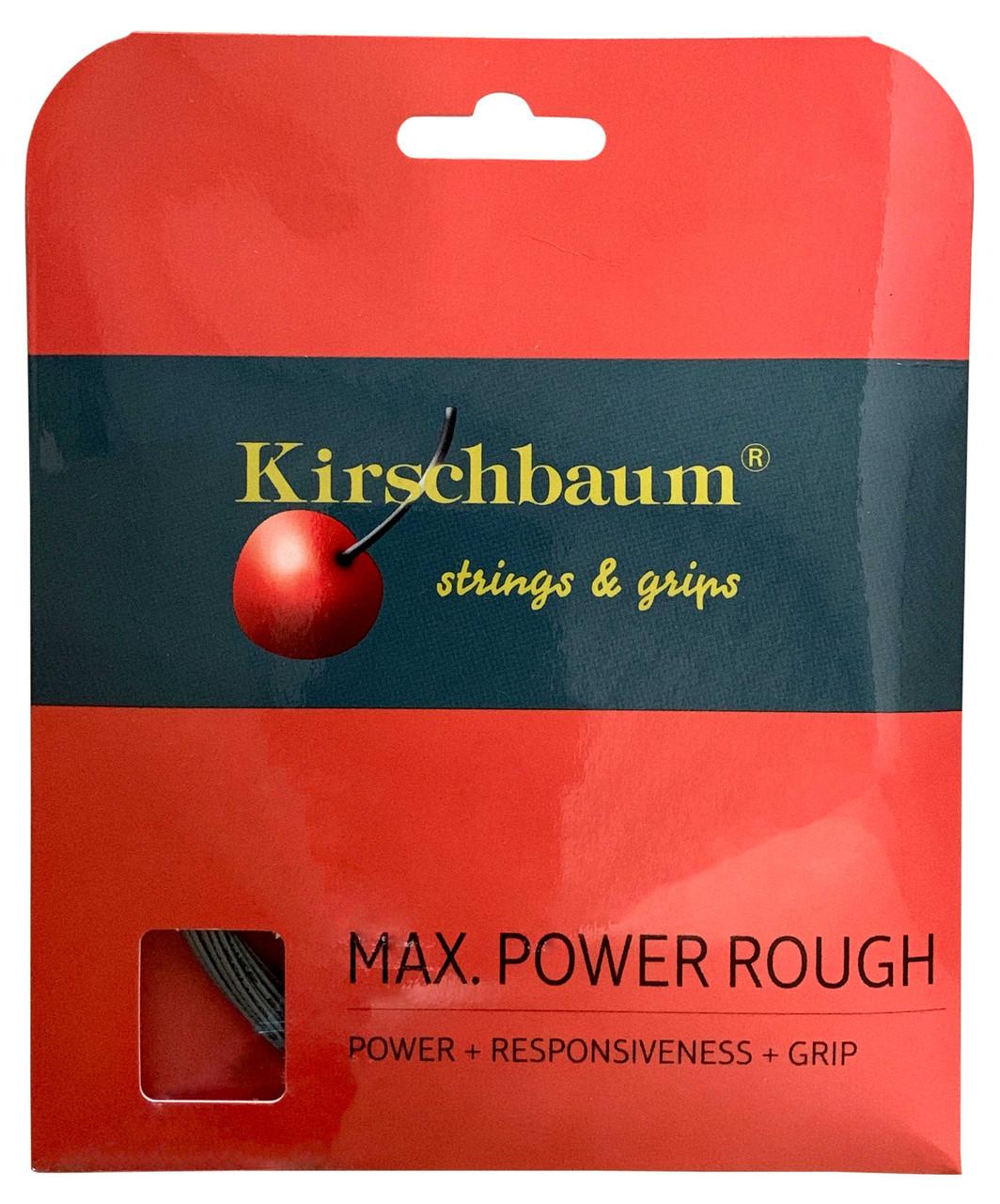 Kirschbaum Max Power Rough 17 1.25mm Tennis Strings Set