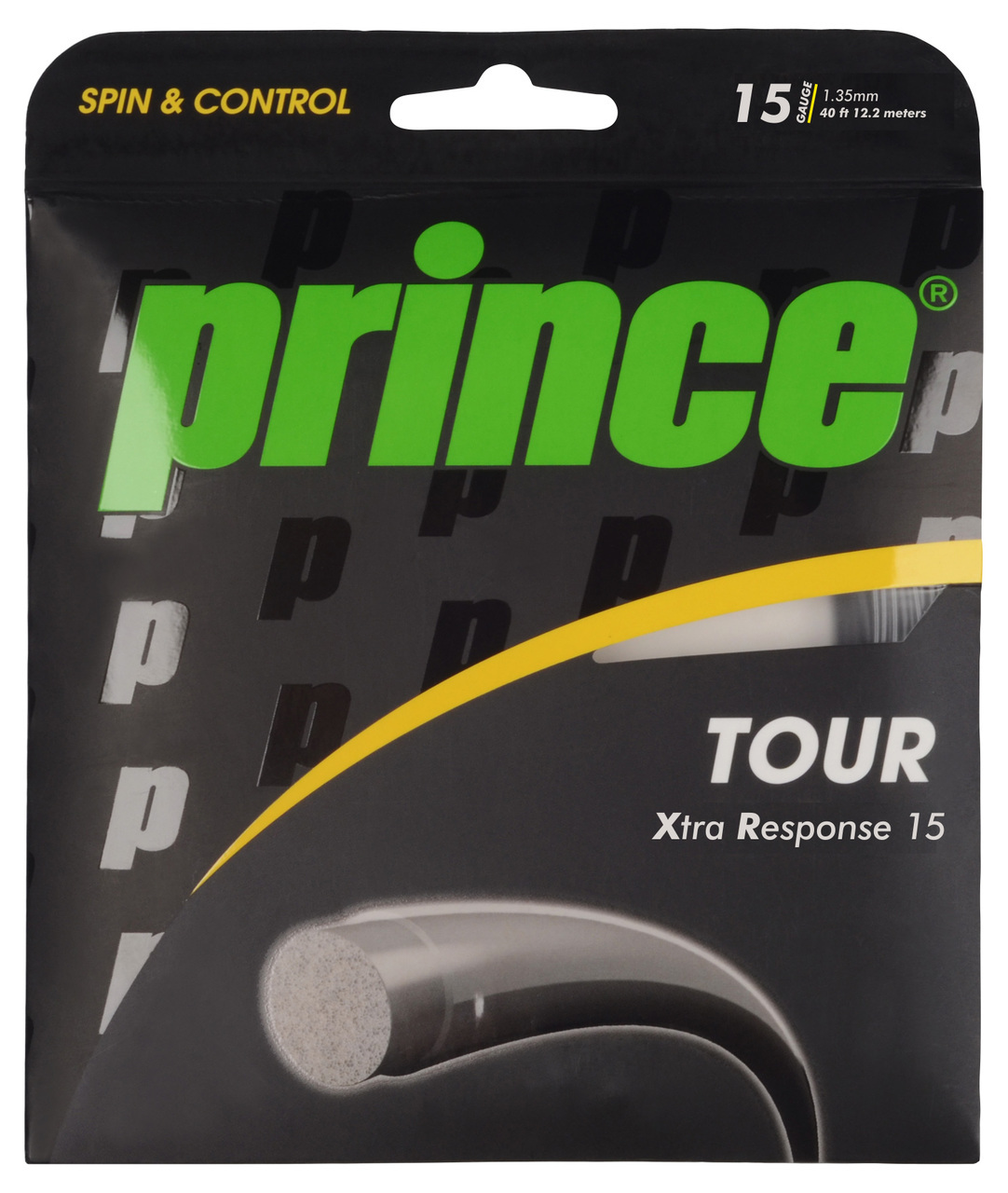 Prince Tour Xtra Spin 15 1.35mm Tennis Strings 200M Reel