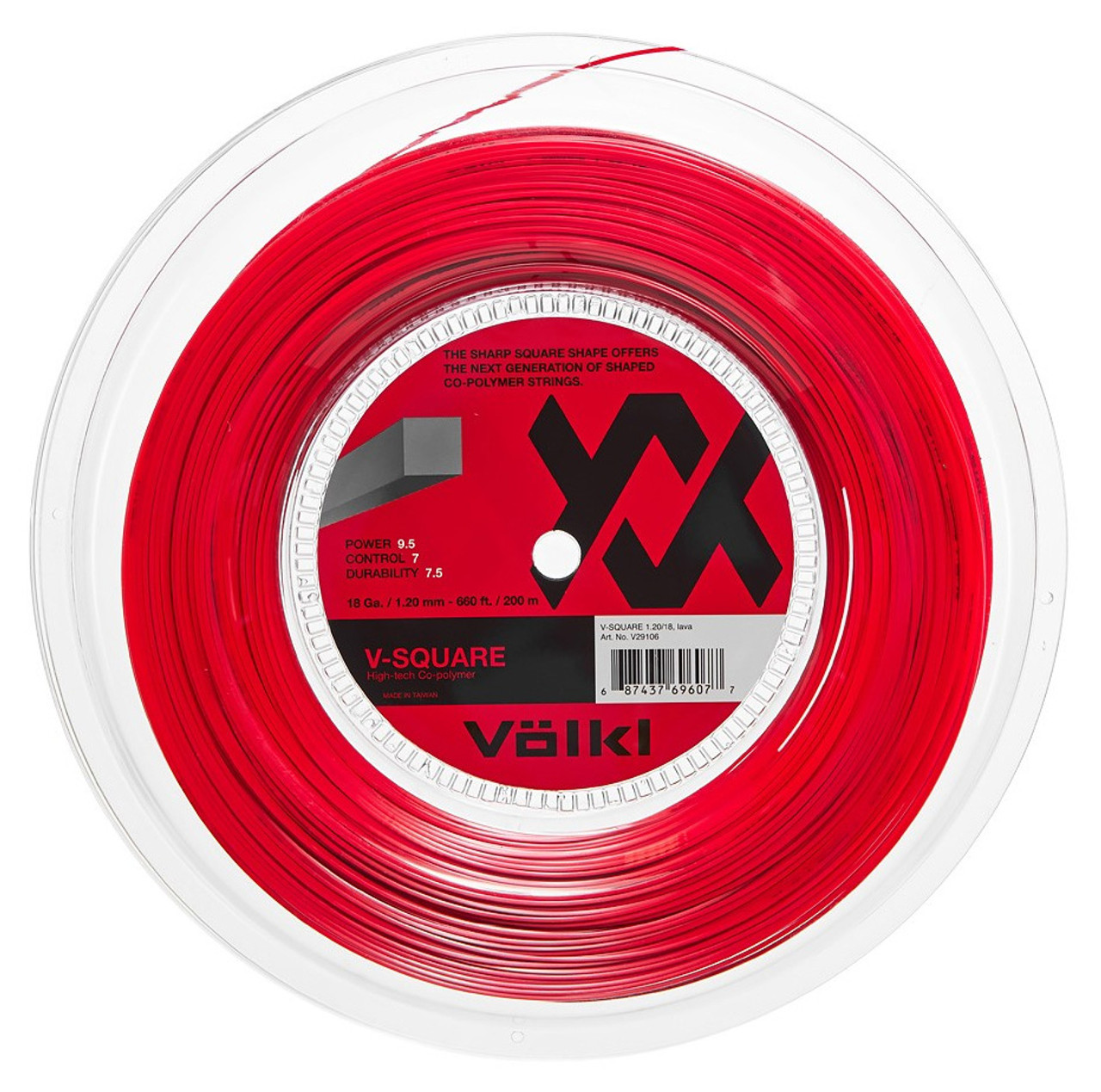 Volkl V-Square 18 1.20mm Tennis Strings Set