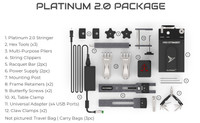 Pro Stringer Platinum 2.0 Portable Electronic Stringing Machine