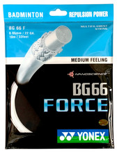 Yonex BG66 Force 0.65mm Badminton Set