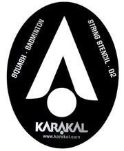 Karakal Squash Badminton Stencil