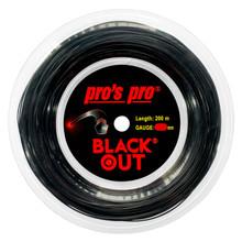 Pro's Pro Black Out 16 1.28mm 200M Reel