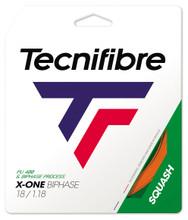 Tecnifibre X-One Biphase 18 1.18mm Squash Set