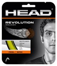 Head Revolution 17 1.25mm Squash Set