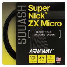 Ashaway SuperNick ZX Micro 18 1.15mm Squash Set