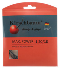 Kirschbaum Max Power 18 1.20mm Set