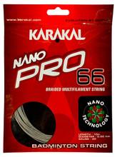 Karakal Nano Pro 66 0.66mm Badminton Set