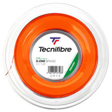 Tecnifibre X-One Biphase 17 1.24mm Squash 200M Reel