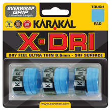 Karakal X-Dri Overgrip 3 Pack