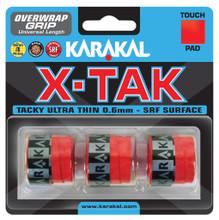 Karakal X-Tak Overgrip 3 Pack