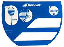 Babolat Badminton Stencil
