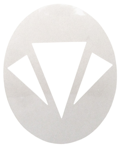Carlton Badminton Stencil
