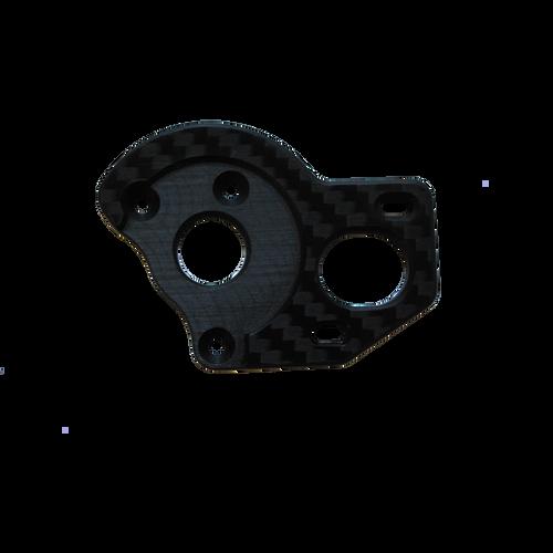 B6.1 4mm CF Motor Plate