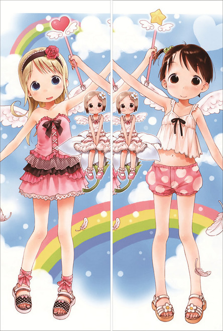 SM299 Strawberry Marshmallow - Ana Coppola + Chika Itou ANIME DAKIMAKURA JAPANESE PILLOW COVER
