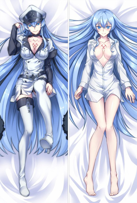 Akame ga KILL! - Esdeath Anime Dakimakura Japanese Pillow Cover