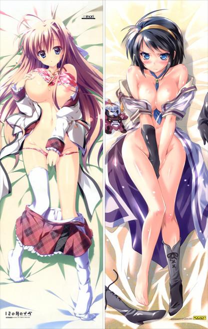 12 no Tsuki no Eve - Unahara Yuki Anime Dakimakura Japanese Pillow Cover