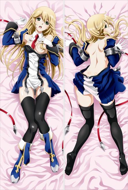 BLAZBLUE:CHRONOPHANTASMA - Noel Vermillion Anime Dakimakura Japanese Pillow Cover