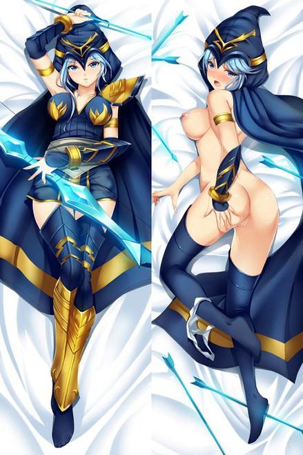 league of legends - Ashe Anime Dakimakura Japanese Pillow Cover
