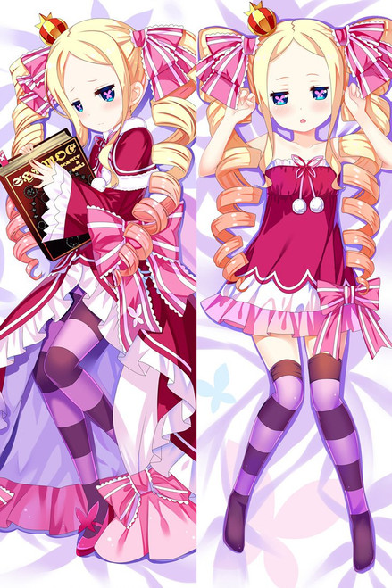 Beatrice Re Zero Anime Dakimakura Pillow Case