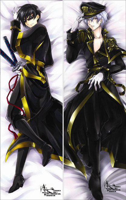 07-GHOST - Ayanami Anime Dakimakura Pillow Cover   -1