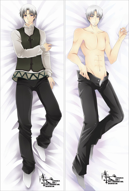 Wolf and Spice Anime Dakimakura Pillow Cover