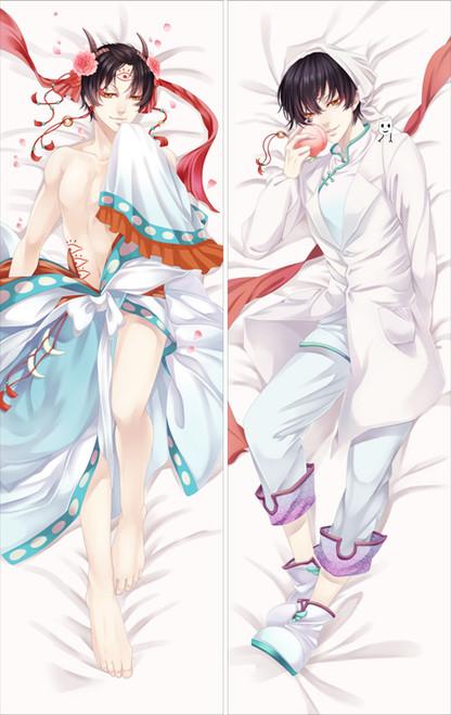 Hozuki no Reitetsu - Hakutaku Anime Dakimakura Pillow Cover