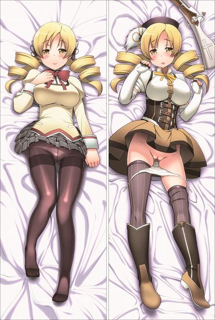 Puella Magi Madoka Magica -  Mami Tomoe Anime Dakimakura Pillow Cover