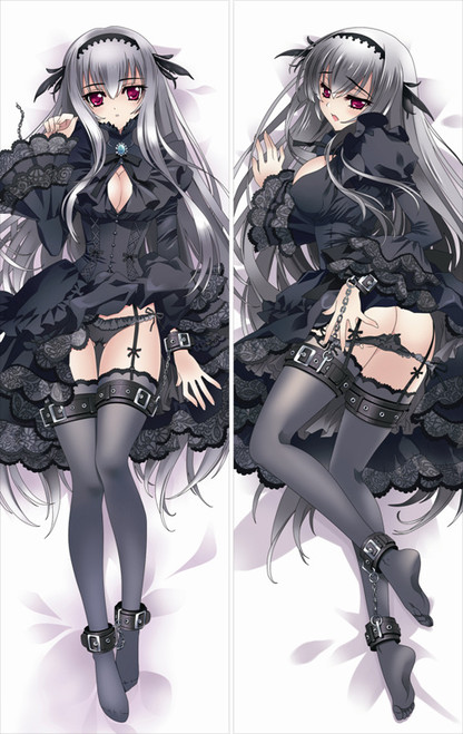 Rozen Maiden - Suigintou Anime Dakimakura Pillow Cover   -4