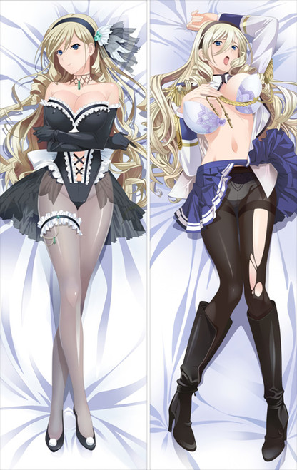 Walkure Romanze - Celia Cumani Aintree Anime Dakimakura Pillow Cover   -2
