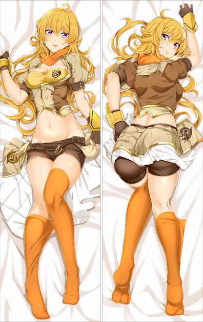 Yellow Trailer Anime Dakimakura Pillow Cover